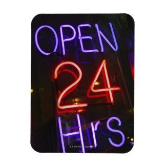Shop Sign Rectangular Photo Magnet