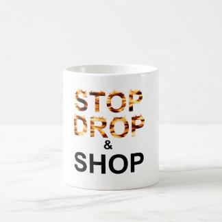 Shop til you drop (Mug) Coffee Mug