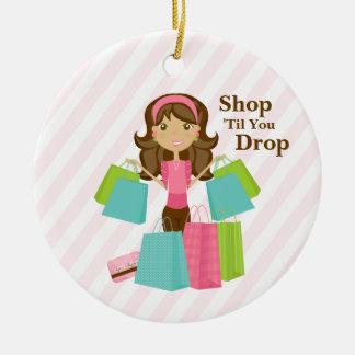 Shop 'Til You Drop | Ornament