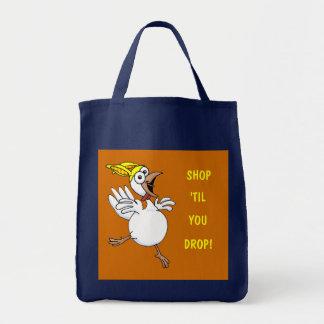 SHOP, 'TIL, YOU, DROP! TOTE BAG