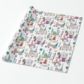Shop til you drop | wraping paper wrapping paper