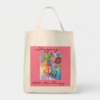 Shop Till You Drop Grocery Tote Bag