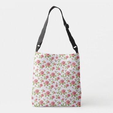 Sandymanme Shop with beautiful floral rose crossbody bag
