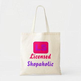 Shopaholic autorizado bolsa tela barata