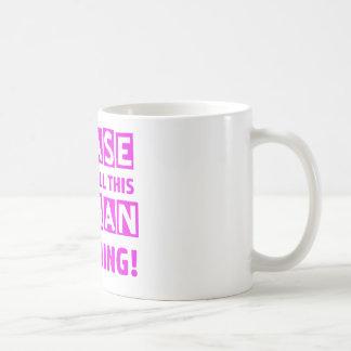 Shopaholic designs coffee mug