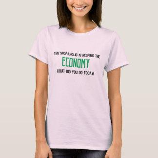 Shopaholic Economy tshirt