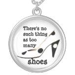 Shopaholic Shoe Fan Necklace