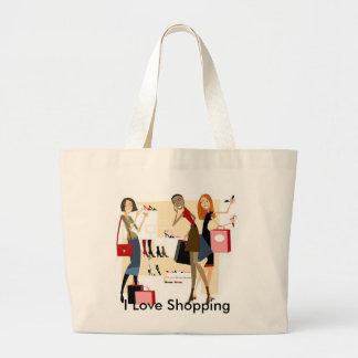 Shopaholic Shopping Bag