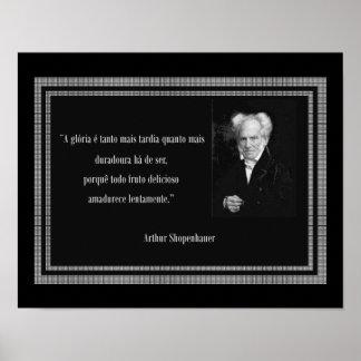 Shopenhauer Poster