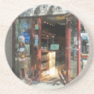Shopfronts - Smoke Shop Beverage Coasters
