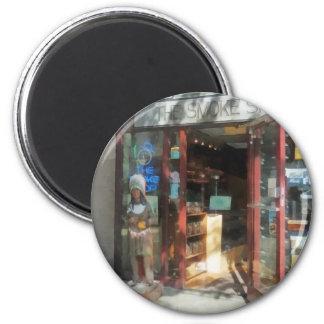 Shopfronts - Smoke Shop Refrigerator Magnets