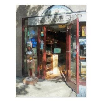 Shopfronts - Smoke Shop Postcard