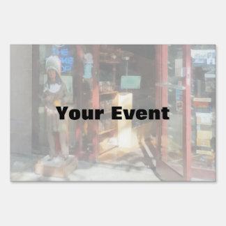 Shopfronts - Smoke Shop Yard Signs