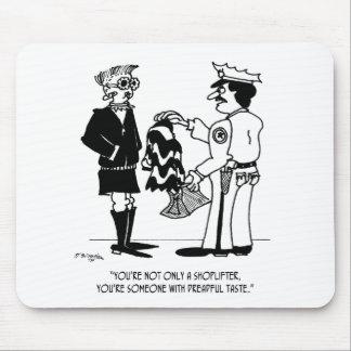 Shoplifting Cartoon 3013 Mouse Pad
