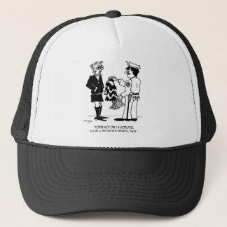 Shoplifting Cartoon 3013 Trucker Hat