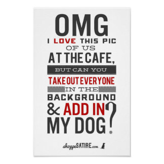 Shoppe Satire - Humor for Photographers Posters