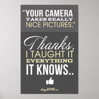 Shoppe Satire - Humor for Photographers Print