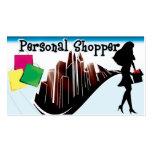 Shopper1 personal tarjeta de visita