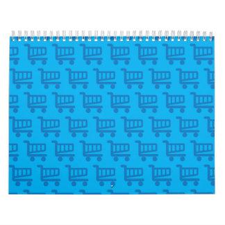 shopper blue calendar