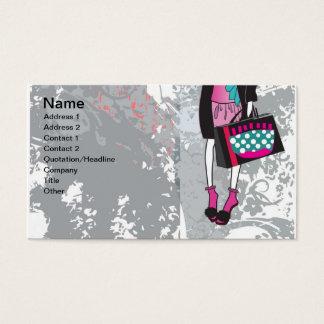shopper business card