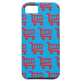shopper red and blue iPhone SE/5/5s case