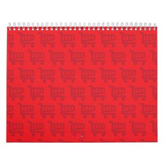 shopper red calendar