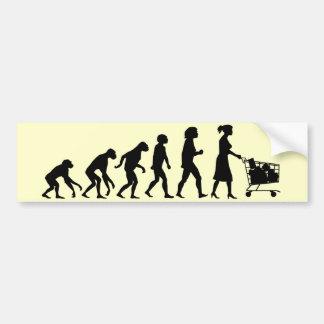 Shopper, the Last Stage Bumper Sticker