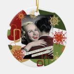 """""""Shopper"""" Witty Housewives Retro Ornaments"""