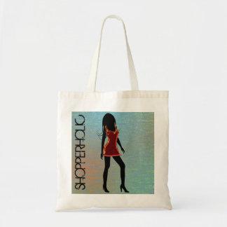 Shopperholic Fashion Girl Budget Custom Tote Bags