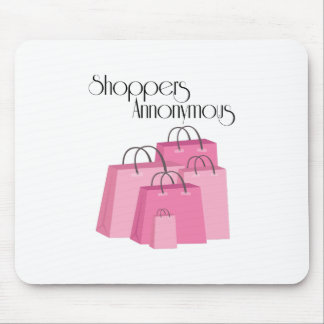Shoppers Annonymous Mouse Pad