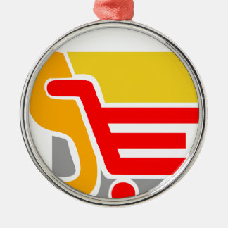 shopping - Abstract Metal Ornament