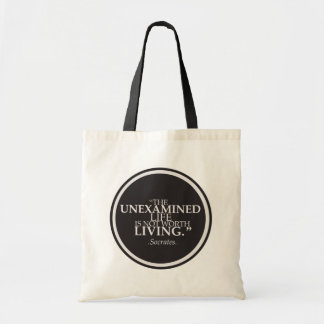 Shopping and Philosophy Tote Bag