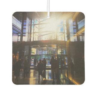 Shopping at Columbus Circle NYC Sunlight New York Car Air Freshener