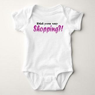 Shopping Baby Bodysuit