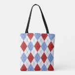 Shopping Bag - Argyle