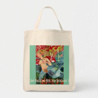 Shopping bag bath Nauheimer art nouveau