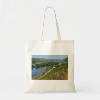 Shopping bag central Rhine Valley with Lorch