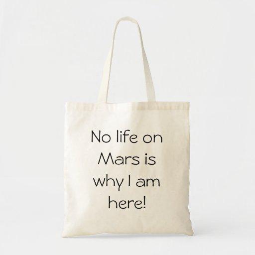 Shopping bag for Martians