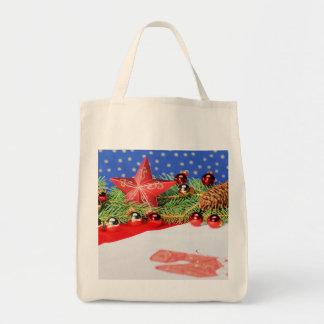 Shopping bag glad Christmas holidays