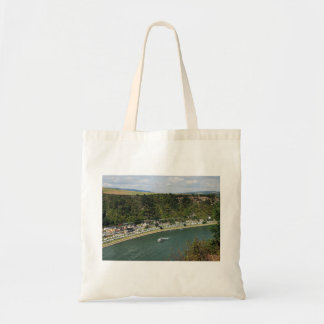 Shopping bag to the Loreley in the central Rhine