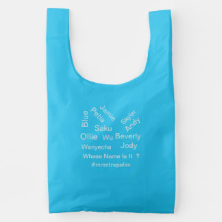 Shopping Bag, Whose Name Is It ?, Reusable Bag
