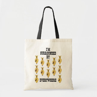 SHOPPING BAG WITH DEZIGN OF DONKEYS BEHINDS W/LOGO