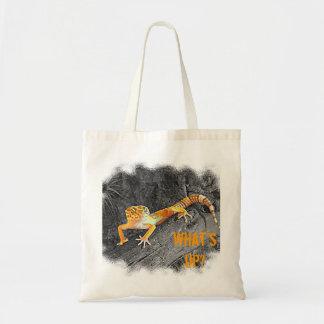 Shopping bag, with gecko Design