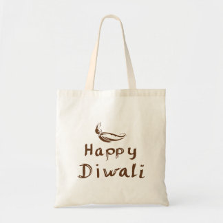 Shopping bag  with text Happy Diwali
