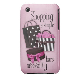 Shopping bags iPhone 3 covers