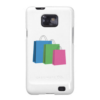 Shopping Bags Samsung Galaxy SII Cover