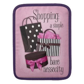 Shopping bags iPad sleeve
