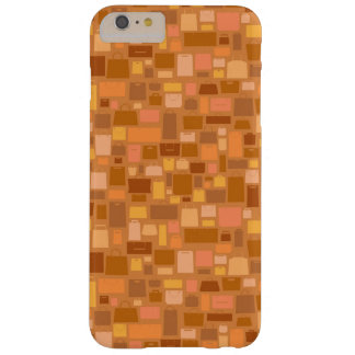 Shopping bags pattern, autumn colors barely there iPhone 6 plus case