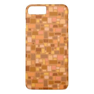 Shopping bags pattern, autumn colors iPhone 7 plus case