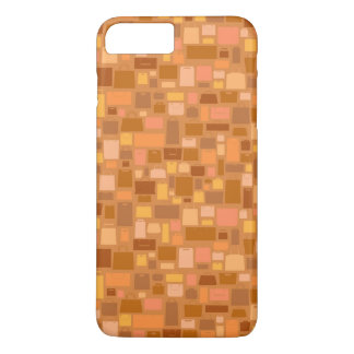Shopping bags pattern, autumn colors iPhone 8 plus/7 plus case